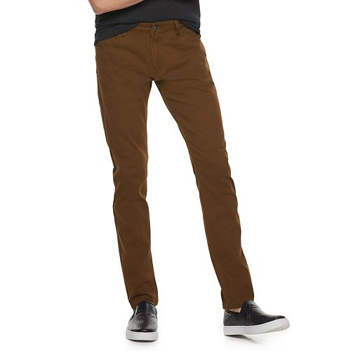 Men's Xray Slim Fit Super Stretch Colored Denim Pants