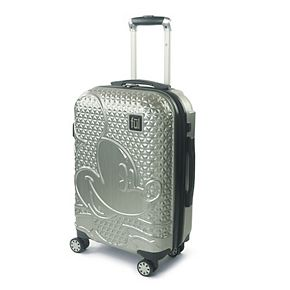 FUL Disney Textured Mickey Mouse Hardside Spinner Luggage