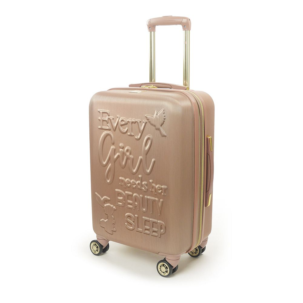FUL Disney Princess Hardside Carry-On Spinner Luggage