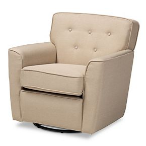 Baxton Studio Canberra Arm Chair