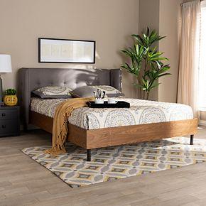 Baxton Studio Catarina Tufted Bed