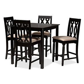 Darcie Pub Dining Table & Chair 5-piece Set