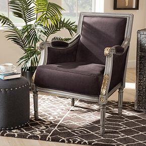 Baxton Studio Georgette Arm Chair