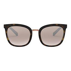 Women's Armani Exchange AX4089S 53 Gradient Mirror Cat Eye Sunglasses