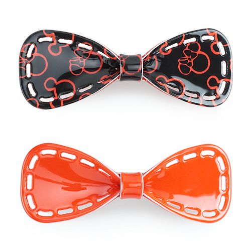 Disney's Minnie Mouse Juniors' Bow Barrettes Duo