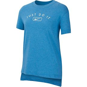 "Girls 7-16 Nike ""Just Do It"" Tee"