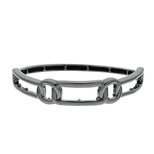 Nine West Geometric Stretch Bangle Bracelet