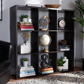 Baxton Studio Janne 9-Cube Bookcase