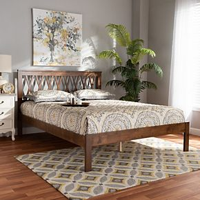 Baxton Studio Malene Bed