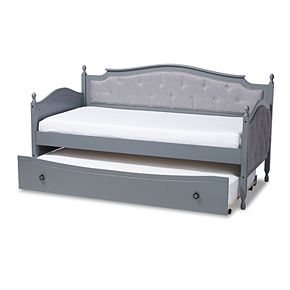 Baxton Studio Marlie Twin Daybed & Trundle