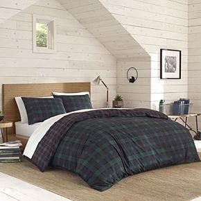 Eddie Bauer Woodland Tartan Plaid Comforter Set