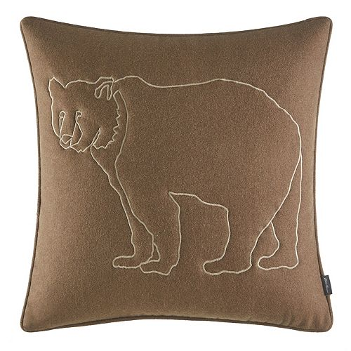 Eddie Bauer Bear Outline Throw Pillow