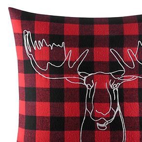 Eddie Bauer Moose Head Throw Pillow