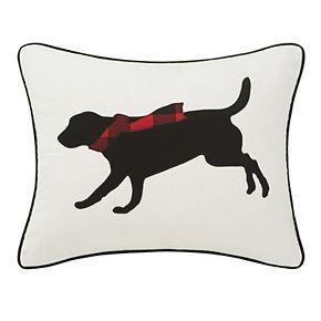 Eddie Bauer Winter Lab Throw Pillow