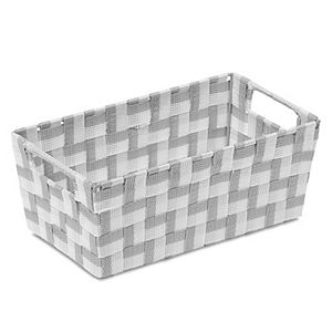 Woven Nylon Shelf Bin