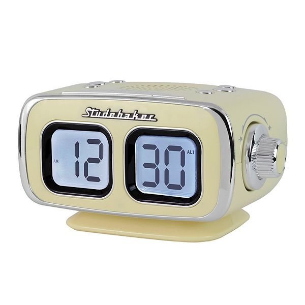 Studebaker Retro Bluetooth Am Fm Clock