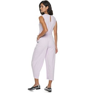 Petite Apt. 9® Splitneck Wide-Leg Jumpsuit