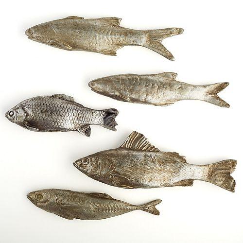 Set of 5 Decorative Fish