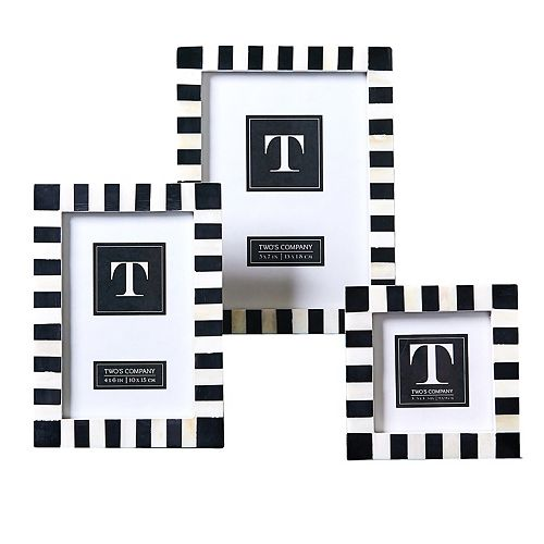 Set of 3 Domino Photo Frames