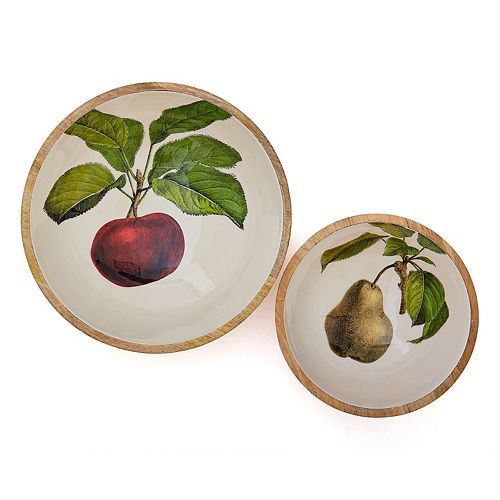 Set of 2 Farm To Table Bowls