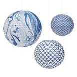 Set of 3 Lanterns in Gift Box