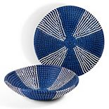Set of 2 Seagrass Decorative Baskets