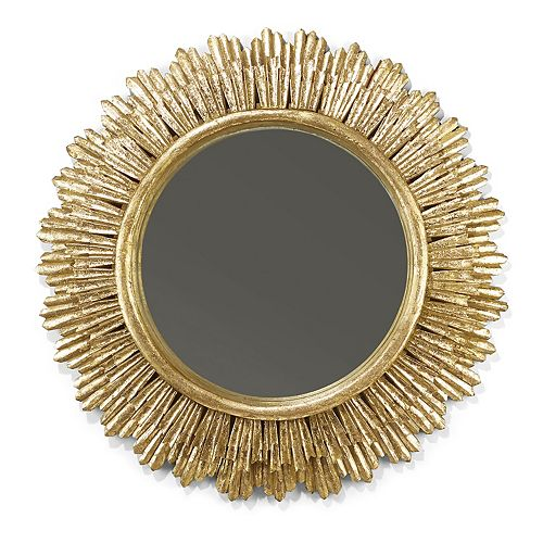 Gold Leaf 35'' Mirror