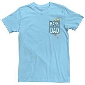 Men's Bank of Dad Graphic Tee
