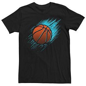 Men's Bright Basketball Graphic Tee