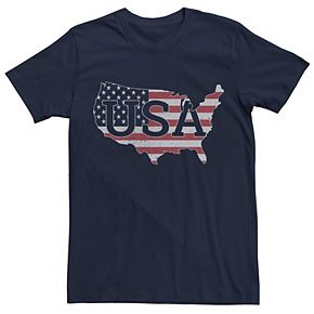 Men's USA Flag Graphic Tee