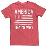 Men's America That's Why Graphic Tee