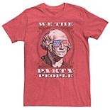 Men's Patriotic Party People Graphic Tee