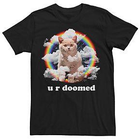 Men's Destroyer Cat Graphic Tee
