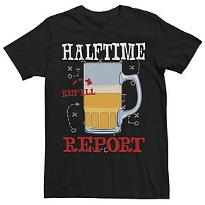 Men's Halftime Report Tee