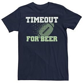 Men's Beer Timeout Graphic Tee