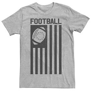 Men's Football Flag Graphic Tee
