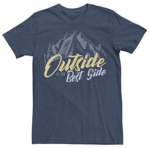 Men's Outside Is The Best Side Graphic Tee