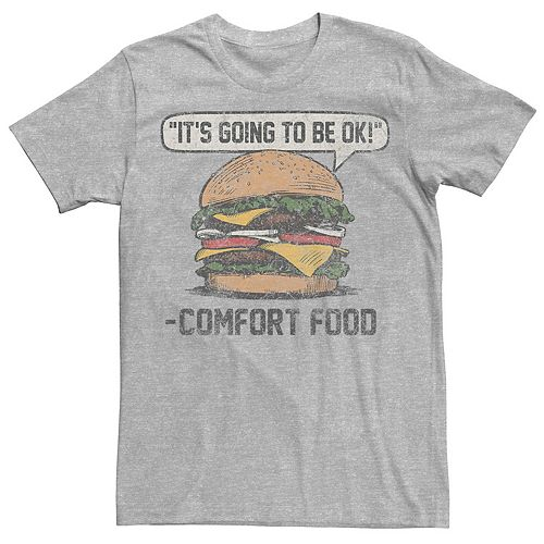 Men's Comfort Food Graphic Tee