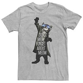 Men's Don't Forget About About Meow Graphic Tee