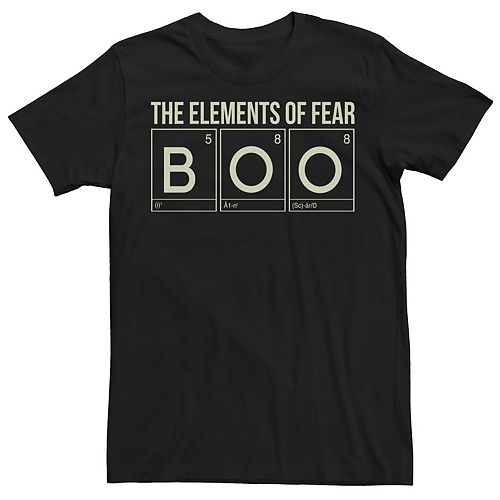 Men's Elements of Fear Graphic Tee