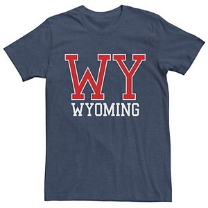 Men's Wyoming Strong Graphic Tee