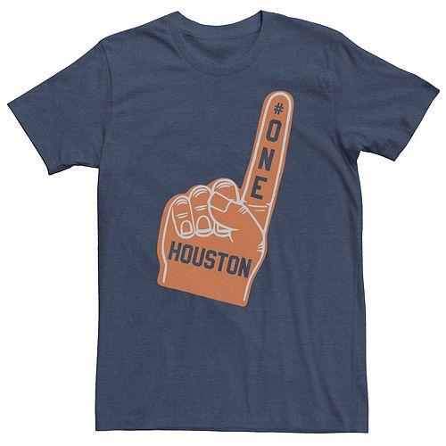 Men's Houston #1 Fan Graphic Tee