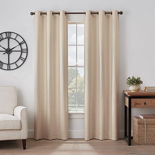 Eclipse Gabriella Absolute Zero 100% Blackout Window Curtain