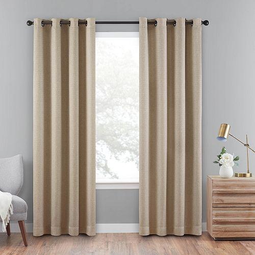 Eclipse Cara Absolute Zero Blackout Window Curtain