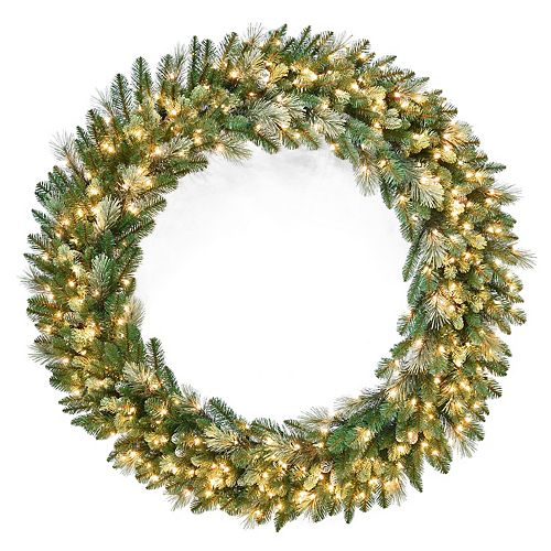 National Tree Co. 60-in. Carolina Pine Wreath & Clear Lights