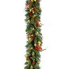 National Tree Co. 9-ft. Classical Collection Garland & Clear Lights
