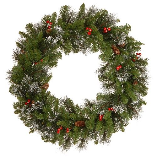 National Tree Co. 30-in. Crestwood Spruce Wreath