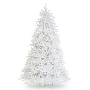 National Tree Co. 9-ft. Dunhill White Fir Tree & Clear Lights
