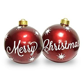 National Tree Company 26 in. 2-Piece Ornament Set