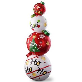 """National Tree Company 33"""" Stacked Ball Ornaments"""